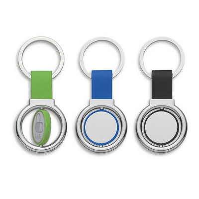 Picture of Circular Metal Spinner Key Ring