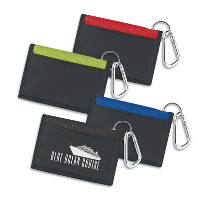 Picture of Carabiner Folding Wallet