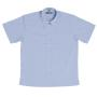 Jb'S Ladies Short Sleeve Fine Chambray S