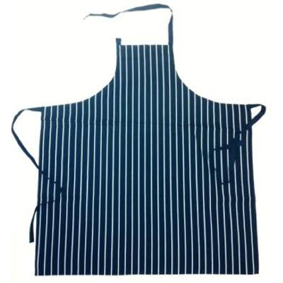 Picture of Jb'S Bib Striped Without Pocket Apron