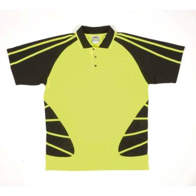 Picture of Jb'S Hi Vis Short Sleeve Spider Polo