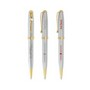 BIC® Worthington Chrome Gold Ballpoint