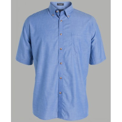 Picture of JB's S/S Indigo Chambray Shirt