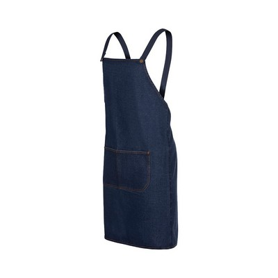 Picture of JB's Cross Back Denim Apron (Without Str