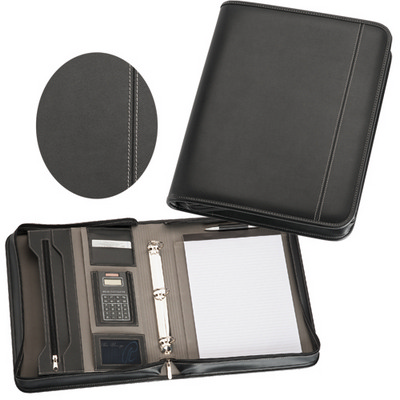 Picture of Zippered Compendium with Calculator
