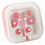 Ear Buds in Case Organiser - Red