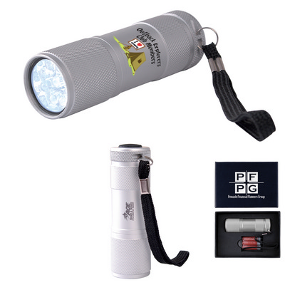Picture of The Tube Silver Aluminium LED Torch
