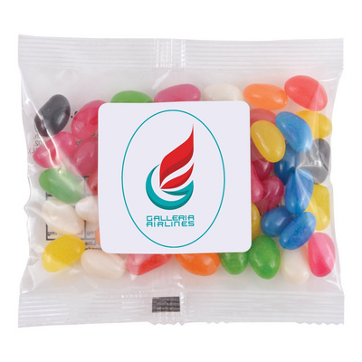 Picture of Assorted Colour Mini Jelly Beans in 50