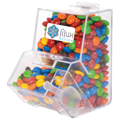 Picture of M&M's in Dispenser