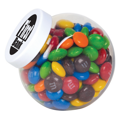 Picture of M&M's in Container