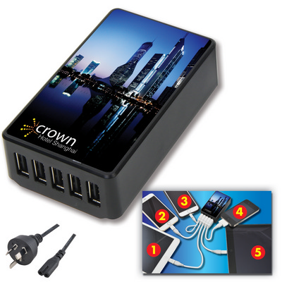 Picture of 5 Port Wonder Wall Charger
