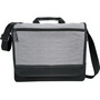 Faded Tablet Messenger Bag - Grey