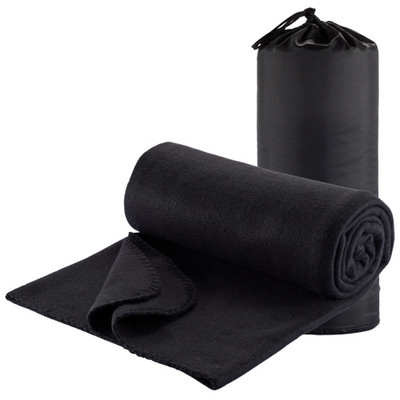 Picture of Polar Fleece Travel Rug - Black