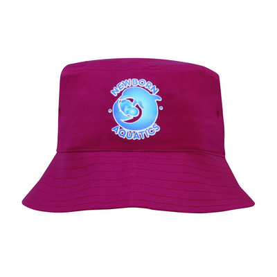 Picture of Childs Breathable P/Twill Bucket Hat