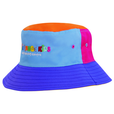 Picture of Multi-Coloured Breathable P/Twill Bucket