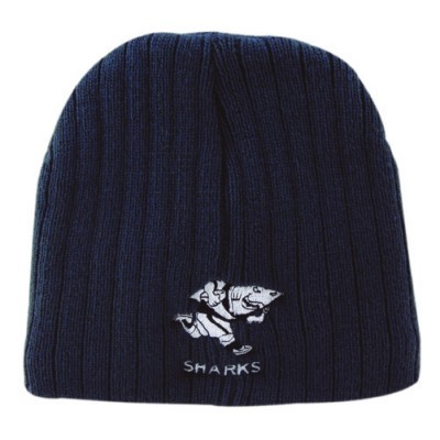 Picture of Acrylic Two Tone Roll Down Beanie