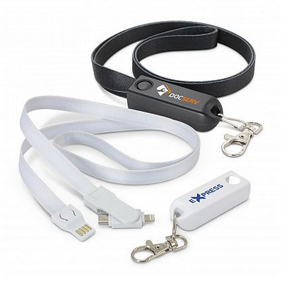 Picture of Artex 3 -in-1 Charging Lanyard