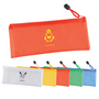 PVC Pencil Case/Organiser with Zipper an