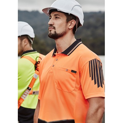 Picture of Mens Hi Vis Flux S/S Polo
