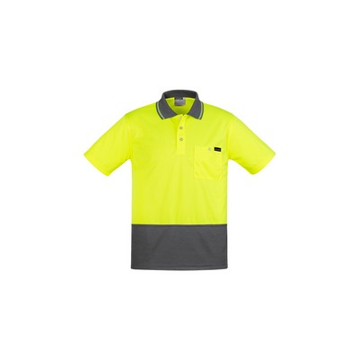Picture of Mens Comfort Back S/S Polo