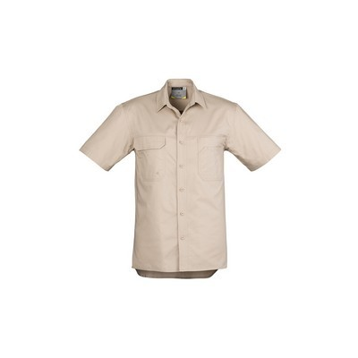 Picture of Mens Light Weight Tradie S/S Shirt