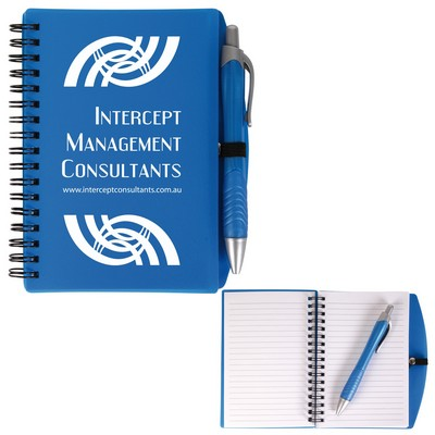 Picture of Scribe Spiral Notebook with Pen