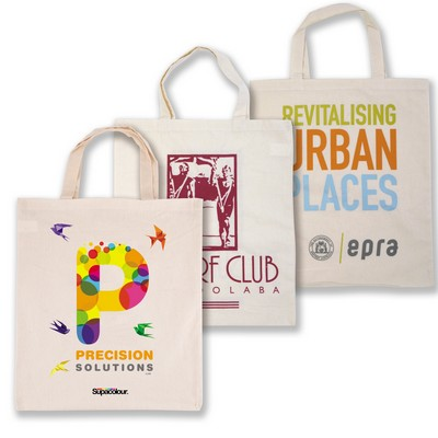 Picture of Calico Double Short Handle Tote Bag - 14