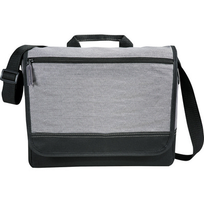 Picture of Faded Tablet Messenger Bag - Grey