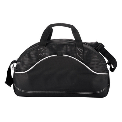 Picture of Boomerang Duffel Sport Bag - Black