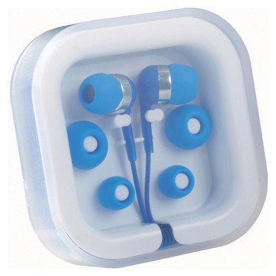Picture of Ear Buds in Case Organiser - Blue