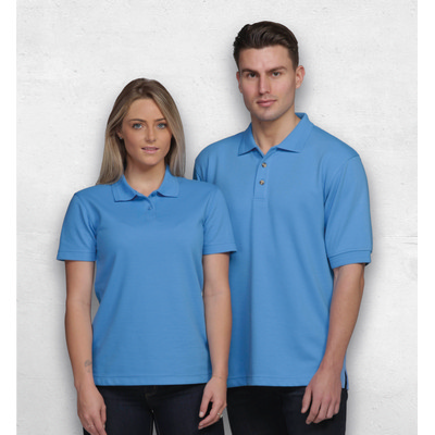 Picture of Jacquard Ottoman Balmoral Polo - Mens
