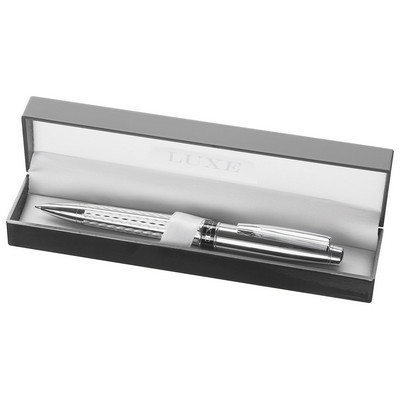 Picture of Luxe Renegade Ballpoint Pen - Silver