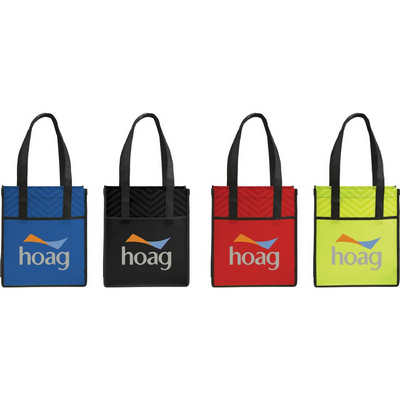 Picture of Printed PolyPro Chevron Shopper Tote