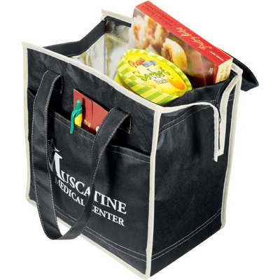 Picture of PolyPro Non-Woven Quilted Insulated Tote