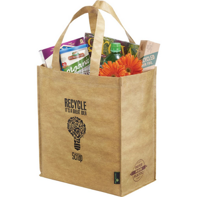 Picture of Matte Laminated Grocers Brown Bag