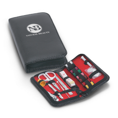 Picture of Leather-Look Sewing and Manicure Kit