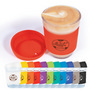 Vienna Glass Coffee Cup  Silicone Lid