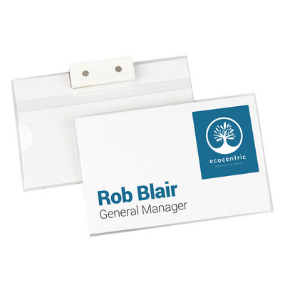 Picture of Name Badge With Magnetic Back