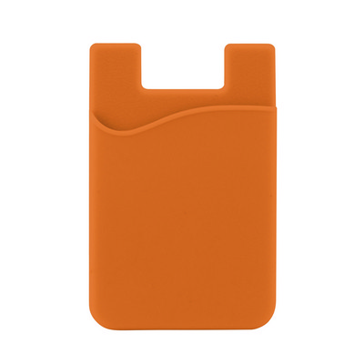 Picture of Silicone Phone Card Holder - Orange