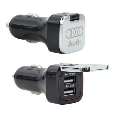 Picture of Flip Top Dual USB Car Charger