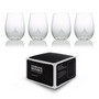 Plastic Stemless Glasses - Set Of 4