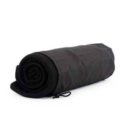 Picture of Blanket In Pouch - Black