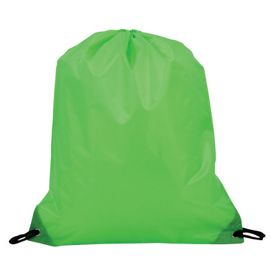 Picture of Drawstring Bag 210D - Lime Green