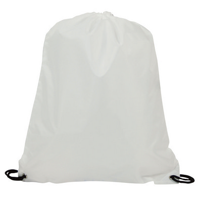 Picture of Drawstring Bag 210D - White