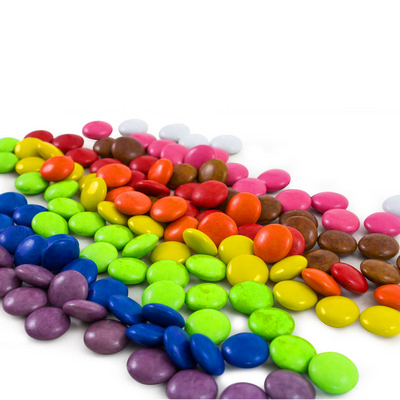 Picture of Confectionery 80gm Bag - Rainbow Buttons