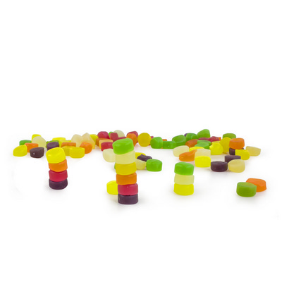 Picture of Confectionery 80gm Bag - Wine Gums