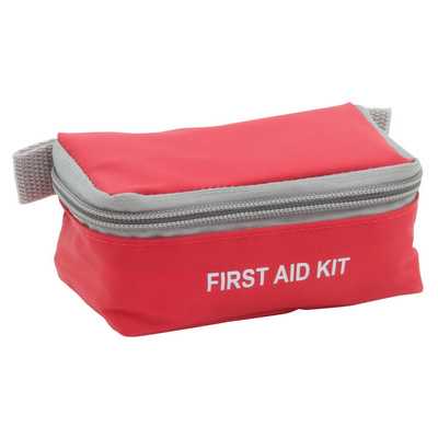 Picture of Mini First Aid Kit - Red/Grey