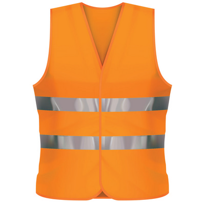 Picture of Fluro Vest XL - Orange