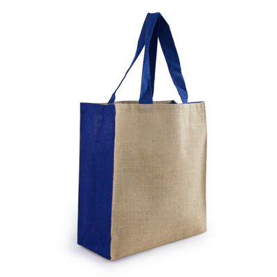 Picture of Jute Carry All - Blue