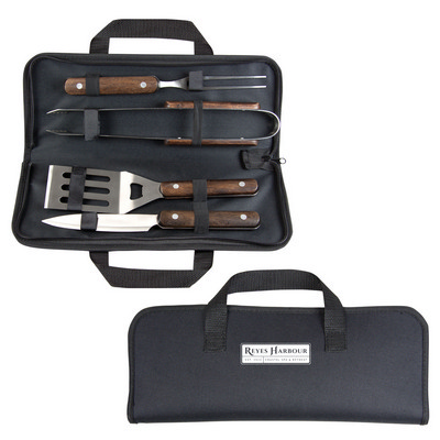 Picture of BBQ Set - Wooden Handle